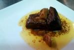 Lomito de cordero con foie y su salsa